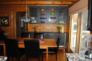 Log Cabin Kitchen Design