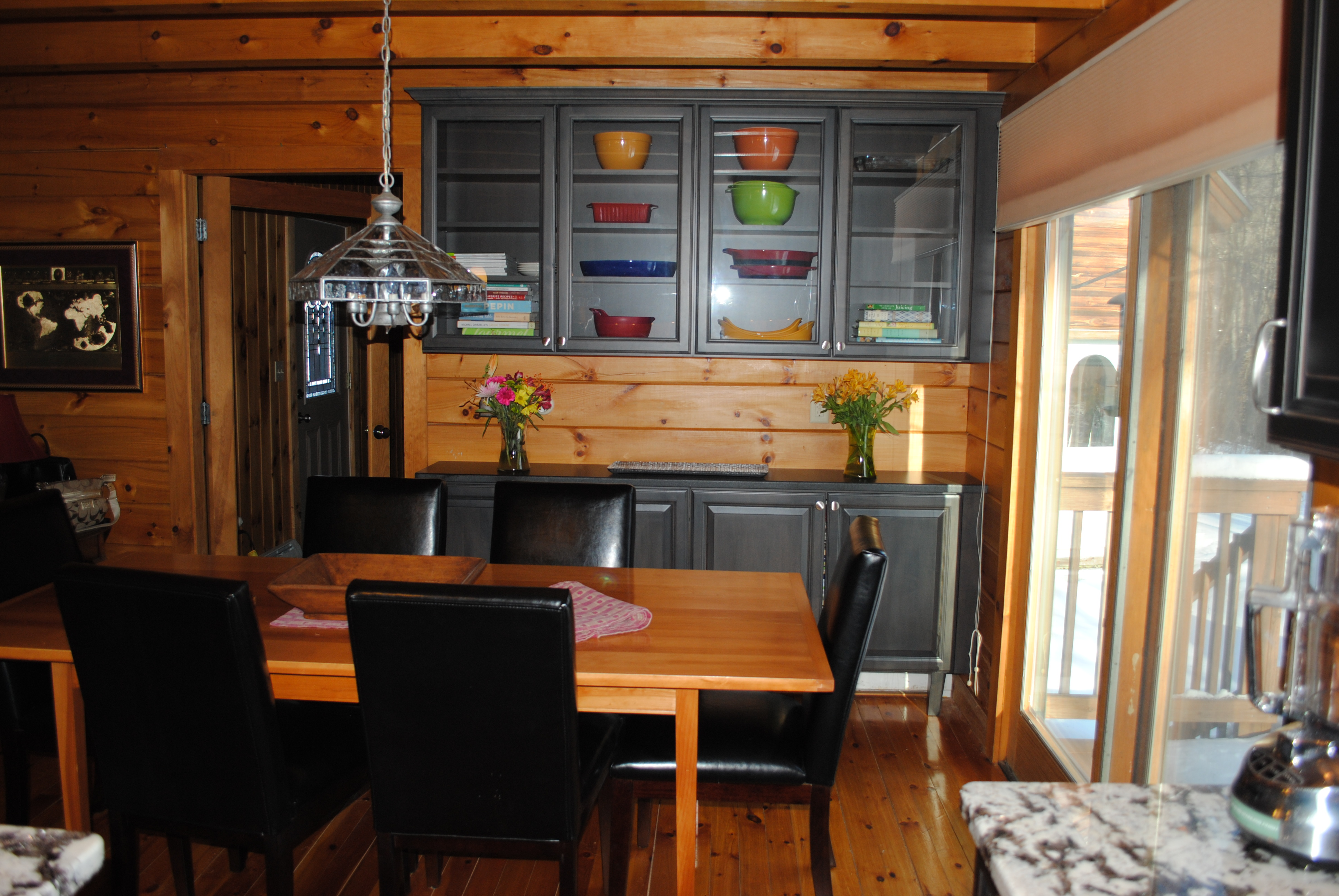 Log home kennebunk kitchens and baths for Log cabin kitchens and baths